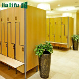 Steel Storage Jialifu cerradura electrónica moderna Gimnasio Locker HPL