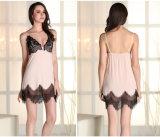 """Pijamas """"sexy"""" Sy10303002 de Microfiber das mulheres por atacado do Nightwear da roupa de noite"""