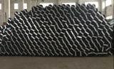 Polygonale de forme conique en acier galvanisé Poteau métallique poteau d'acier électrique