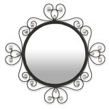 Specchio decorativo a forma di della parete del metallo di Sun di progetto Otel con le mattonelle di vetro