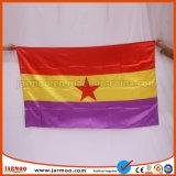 prix d'usine durable drapeaux imprimé personnalisé
