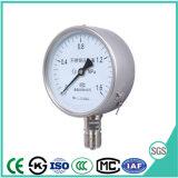 Remplis d'huile de 100mm Jauge de pression en acier inoxydable avec une haute qualité