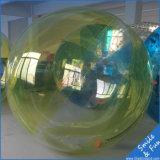 Шарик игрушки шарика воды гуляя с TPU0.8mm и застежкой -молнией Германии Tizip диаметра 2m для 1-2 людей