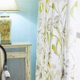거실 보일 지친 투명한 부엌 커튼을%s 꽃 미국 커튼