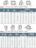 ASME B16.11 CS A105 Conexões Rosca cl3000 o cotovelo de 90 graus