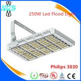 屋外の7000内腔100W LEDのフラッドライトのためのLEDの洪水ライト