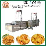 Nourriture faisant frire Equyipment/friteuse pépites de poulet/machine de Fring pour la pépite de poulet