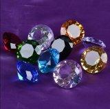 Cristal de diamant de vente en gros de décoration de rendez-vous de mariage