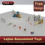 Детей качества SGS спортивная площадка супер напольная пластичная (X1502-10)