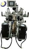 Machines de écriture de labels d'Ashesive de double stand latéral de bouteille ronde