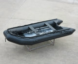 Aqualand 14pieds en caoutchouc de 8 personnes Semi-Rigid bateau/Canot pneumatique/bateau de sauvetage (420)