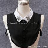 Оптовая торговля съемные белых женщин рубашки поддельные воротник с Rhinestone Crystal