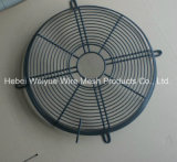El PVC galvanizó al alambre soldado cromo axial/a protector industrial de la parrilla del ventilador del extractor