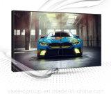Yashi 55pouces LCD 4K monté sur un mur d'affichage vidéo transparente