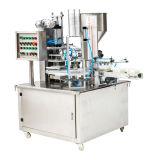 Tipo rotatorio relleno de la taza del agua y máquina automáticos del lacre