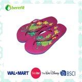 EVA Slippers e PVC Straps delle donne con Bright Printing