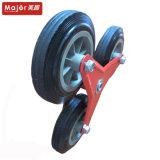 Твердый каучук/PU пены типа Stair-Climbing тележки колесо со стальной рамы