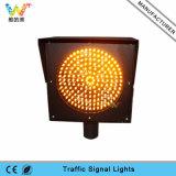 indicatore luminoso d'avvertimento infiammante giallo di traffico del segnale di 200mm LED