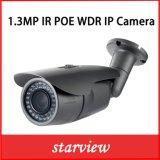 câmera do CCTV da segurança da bala do IP IR de 1.3MP WDR