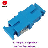 Optische Adapter van de Vezel van Sc de Simplex zonder Oor
