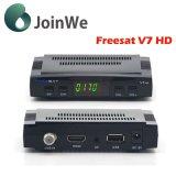 Mais barato Freesat DVB-S2 V7 do Receptor de Satélite Digital HD