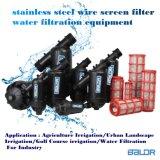 Type baril de filtrage de l'écran Filter/Y d'écran d'eau de Bsf032y