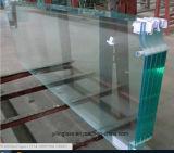 Tela de chuveiro em vidro temperado com ácido foscas, gravados, impressos, padrões de figurado