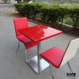 Table de salle à manger en finition en acrylique à 4 personnes pour banquet