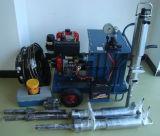 7.5HP motor diesel Darda similares Splitter concreto hidráulico