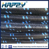 SAE100 R5/ único fio entrançado recobertos de têxteis a mangueira hidráulica