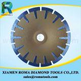 Romatools 다이아몬드는 T 유형 오목한 잎을%s 톱날을