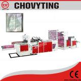 Fünf Zeilen Plastikkalender-Beutel, der Maschine unteren Scherblock herstellt