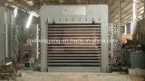 Heiße Presse-Maschine für Furnierholz/kurze Schleife-lamellierende Presse