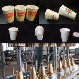 Пенополистирола Мороженое из пеноматериала в салоне чашки бумагоделательной машины