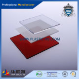 Transparente de alta calidad de chapa acrílica