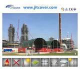 10X12m Dome/Round Recipiente prefabricados galpão, Marquee, Gazebo, Tenda exterior (JIT-3340C)