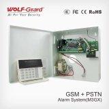 Sistema di allarme di GSM con il rivelatore della finestra del portello del fumo del fuoco