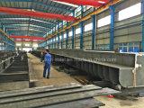 強い金属フレームが付いているアセンブリ鉄骨構造橋