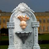 Mur de sculpture sur marbre Natura cyprin doré Fontaine pour la décoration de jardin