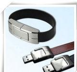 Вспышка USB пер/большого пальца руки/автомобиля ручки привода памяти вспышки 2.0 USB кожи утюга Wristband управляет 4GB 8GB 16GB 32GB 64GB