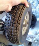 10 polegada Offroad Semi-Pneumatic roda de borracha à prova de punção para carrinho de mão