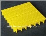 Решетка FRP/листы/плита/твердая верхняя решетка с ровной поверхностью
