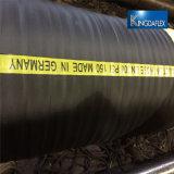 Bester verkaufenfaser-umsponnener Wasser-Pumpen-Absaugung-Gummi-Schlauch