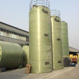 FRPのガラス繊維の防蝕貯蔵タンク