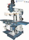 El moler vertical universal del taladro de la torreta del metal del CNC y perforadora para la herramienta de corte con la pista de eslabón giratorio de Dro de 3 ejes X6332clw-2