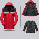 Отделяемая зима Outdoors работая водоустойчивая куртка лыжи Windbreaker