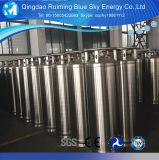 Vertical 480L/450L El CO2 líquido Dewar depósito criogénico