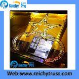 Braguero de aluminio del aluminio del braguero de la etapa del braguero de la iluminación del braguero del proyecto