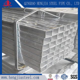 Tube rectangulaire de la construction en acier galvanisé