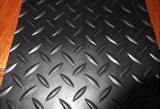 mat van de Vloer van de Gymnastiek van de Plaat van de Diamant van 5mm de Rubber